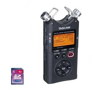 Tascam DR40 & Additional 4GB SD Card