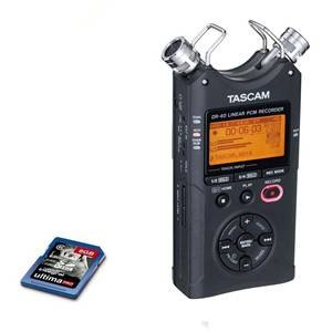 Tascam DR40 & Additional 8GB SD Card