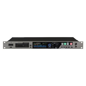 Tascam DA-6400DP 64-Channel 1U Rack Recorder with Dual Power Supply