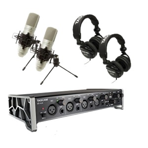 Tascam US-4x4TP Interface Bundle