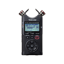 Tascam DR-40X Portable 4-Track Audio Recorder And USB Audio Interface