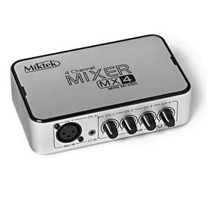 Miktek MX4 4-Channel Mixer
