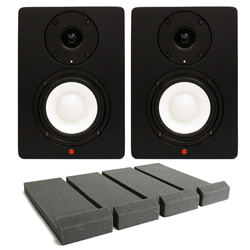Studiospares SN4A Active Studio Monitors Isolation Bundle