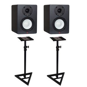 Studiospares SN4A Active Studio Monitors Stands Bundle