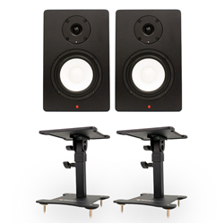 Studiospares SN5A Pair + Desktop Monitor Stands