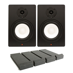 Studiospares SN6A Pair + Monitor Pads