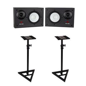 Studiospares SN10 MkII Studio Monitors pair + Monitor Stands