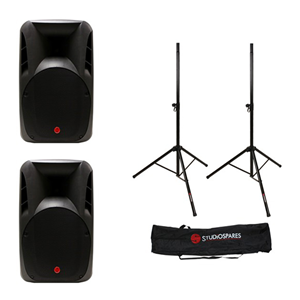 Fortissimo 12P MkII Passive PA Speaker + Stands + Bag