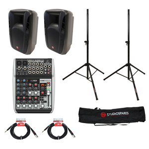 Fortissimo 10A MkII + Xenyx QX1002USB PA Package