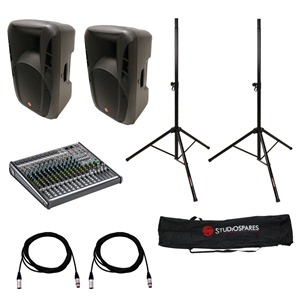 Fortissimo 12A MkII + PROFX16v2 PA Package