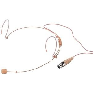 Monacor HSE-152/SK Cardioid Headband Mic 3-Pin Mini XLR