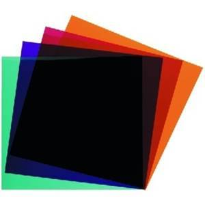 Colour Filters  x4 200mm LEF-256SET