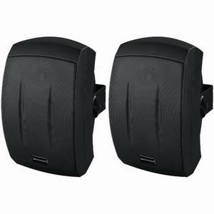 Monacor MKS-232/SW 50W Waterproof PA Speakers Black
