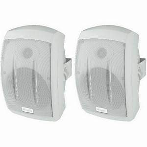 Monacor MKS-232/WS 50W Waterproof PA Speakers White