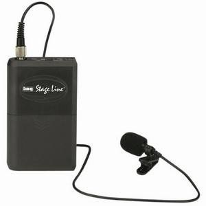 Stageline TXS-820LT Beltpack Tieclip 863.05MHz Transmitter only