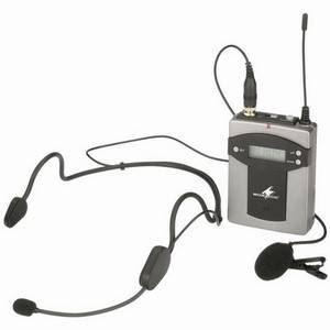 Monacor TXA-800HSE Headset/Tieclip Transmitter Mic