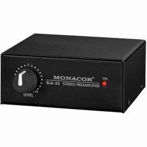 Monacor SLA-35 Stereo Level And Impedance Matching Amp