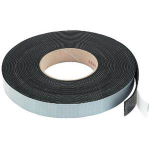 Speaker Sealing Tape Rubber Black 10m