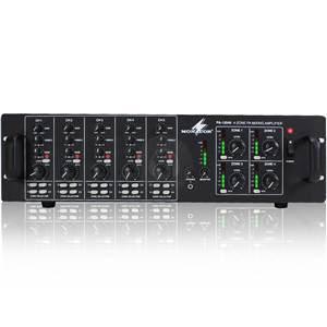 Monacor PA-12040 100V Line Mixer Amp