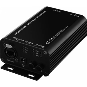 Monacor DTTA-2 Dante I/O 2-Channel Analogue-Dante Transmitter Box