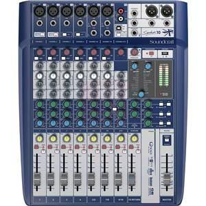Soundcraft Signature 10 6-input Analogue mixer