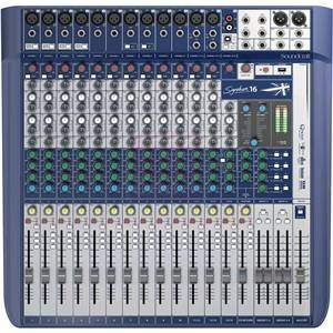 Soundcraft Signature 16 12-input Analogue Mixer