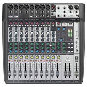 Soundcraft Signature 12MTK USB Interface Analogue Mixer