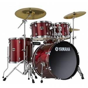 Yamaha GM0F5 Gigmaker Drum Set (Burgundy Glitter)