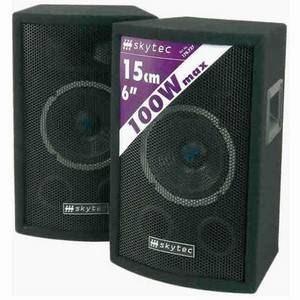 Skytec Disco PA 6-Inch Speakers