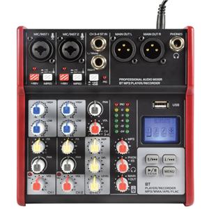 Citronic CM4-BT Compact Bluetooth Mixer