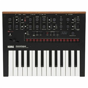 Korg Monologue Black Analogue Synth