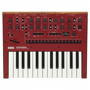 Korg Monologue Red Analogue Synth