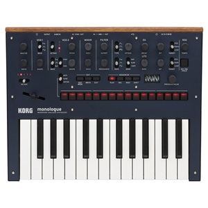 Korg Monologue Blue Analogue Synth