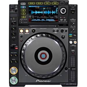 Pioneer CDJ2000 NXS2 DJ CD Multimedia Player
