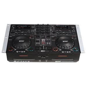 Gemini CDMP-6000 Dual CD/MP3/USB Player/Mixer