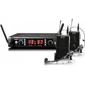 Gemini UHF-4200HL Dual Headset/Lavalier UHF Radiomic