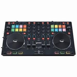 Gemini Slate Quad DJ USB MIDI Controller
