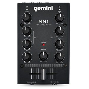 Gemini MM1 2-Channel Mini Mixer