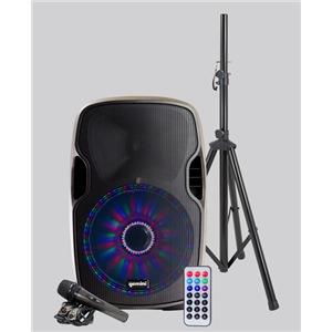 Gemini AS-12BLU-LT-PK 12-inch Active Bluetooth Speaker Pack