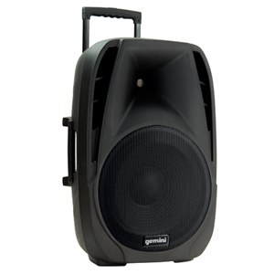 Gemini ES12TOGO 12-inch Portable PA with 2 Radiomics