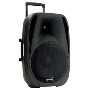 Gemini ES15TOGO 15-inch Portable PA with 2 Radiomics