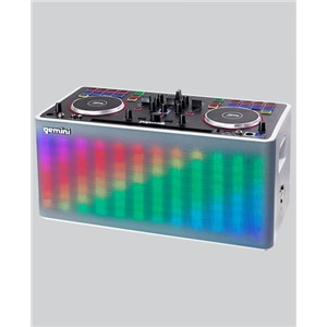 Gemini MIX2GO Portable DJ System