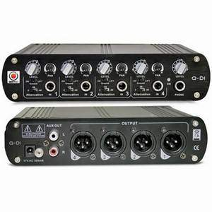 SM Pro Q-DI 4-Channel DI With Line Mixer