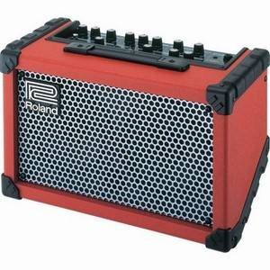 Roland Cube Street Busker's Amp Red