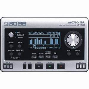 Boss BR-80 Micro-BR BR-80 Handheld Recorder