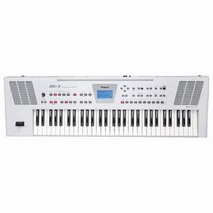 Roland BK-3 White Backing Keyboard