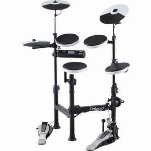 Roland TD4KP + Case Portable V-Drums Drum Kit
