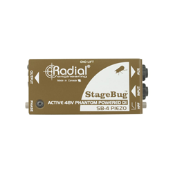 Radial Stagebug SB-4 Piezo Active DI Box