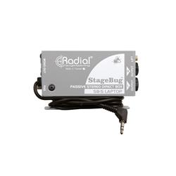 Radial Stagebug SB-5 Laptop Passive Stereo DI Box