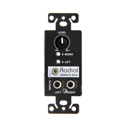 Radial SB-5W Wall DI Wallmount Stereo